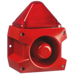 Pfannenberg PA X 5-05 Sounder Beacon 100dB, Red Xenon, 24 V dc
