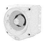 Klaxon Nexus Pulse Sounder Beacon 105dB, White LED, 17 → 60 V dc, IP66