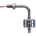 Gems Sensors Horizontal Float Switch, Stainless Steel 316, SPST NO, Float, 24in, 240V