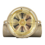 Gems Sensors RFS Series RotorFlow Electronic Flow Sensor, 1.5 gal/min → 20 gal/min