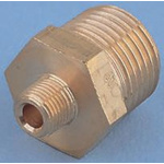 Legris Brass 3/4 in BSPT Male x 3/4 in BSPT Male Straight Adapter Threaded Fitting