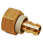 Legris Brass M14 Metric Female x 14 mm Barbed Male Straight Threaded Fitting