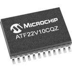 Microchip ATF22V10CQZ-20SU, SPLD Simple Programmable Logic Device ATF22V10CQZ 10 Macro Cells, 22 I/O, ISP, 12ns CMOS
