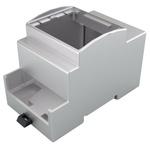 Italtronic DIN Rail Enclosure Type Modulbox XTS Series , ABS, Polycarbonate DIN Rail Enclosure
