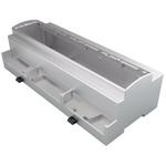 Italtronic Modulbox XTS Series , ABS, Polycarbonate DIN Rail Enclosure