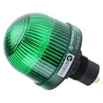 Werma EM 206 Green Incandescent, LED Beacon, 12 → 48 V ac/dc, Steady, Panel Mount