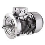 Siemens 1LE1 Reversible Induction AC Motor, 3 kW, IE2, 3 Phase, 4 Pole, 400 V, 690 V, Flange Mount Mounting