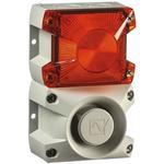 Pfannenberg PA X 1-05 Sounder Beacon 100dB, Amber Xenon, 230 V ac