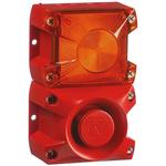Pfannenberg PA X 1-05 Sounder Beacon 100dB, Amber Xenon, 24 V dc