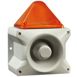 Pfannenberg PA X 10-10 Sounder Beacon 110dB, Amber Xenon, 230 V ac