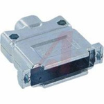 connector accessory,d-sub,die-cast metal hood,straight exit,for std 25 contact