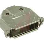 connector accessory,d-sub,straight metalized plastic hood,for std 50 cont d-sub