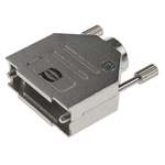 Harting Metal D-sub Connector Backshell, 15 Way