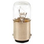 Eaton BA15d Incandescent Bulb, Clear, 12 V