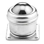 ALWAYSE 4-Hole Flange 40mm Steel Ball Transfer Unit