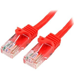 Startech Red PVC Cat5e Cable UTP, 10m Male RJ-45