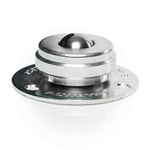 ALWAYSE 3-Hole Flange 19mm Stainless Steel Ball Transfer Unit Stainless Steel