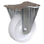 Guitel point m Fixed Castor Wheel, 125kg Load Capacity, 125mm Wheel Diameter