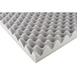 Paulstra Hutchinson Adhesive PUR Foam Acoustic Insulation, 700mm x 500mm x 50mm