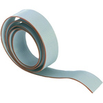 Harting 50 Way Unscreened Flat Ribbon Cable, 63.16 mm Width, 30m