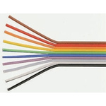 Amphenol 20 Way Unscreened Flat Ribbon Cable, 17.78 mm Width, Series Spectra-Strip