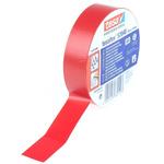 Tesa Tesaflex 53948 Red PVC Electrical Tape, 19mm x 25m