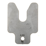 Stainless Steel Pre-Cut Shim, 50mm x 50mm x 2mm