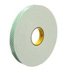 3M SCOTCH 4026 White Foam Tape, 50mm x 33m, 1.6mm Thick