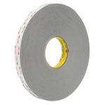 3M 4941P, VHB™ Grey Foam Tape, 19mm x 33m, 1.1mm Thick