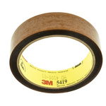 3M Scotch 5419 Yellow Polyimide Electrical Tape, 25mm x 33m