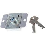 Euro-Locks a Lowe & Fletcher group Company Steel Padlockable Door Bolt, 67 x 42.8mm