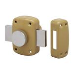 Dom Metalux Steel Padlockable Door Bolt, 90 x 110mm