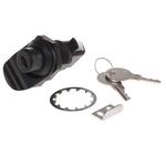 Southco Panel to Tongue Depth 23mm ABS Black Camlock, Key to unlock
