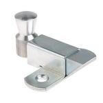 Pinet Steel Padlockable Door Bolt, 73 x 70mm