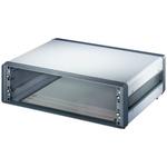 Schroff, 3U Rack Mount Case Comptec Ventilated, 153 x 520 x 300mm