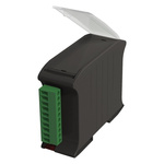 Italtronic Solid, Vented Enclosure Type Railbox Series , 101 x 35 x 79mm, ABS, Polycarbonate DIN Rail Enclosure