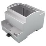 Italtronic Ventilation Slot Enclosure Type Modulbox XTS Series , ABS, Polycarbonate DIN Rail Enclosure