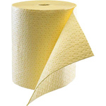 Ecospill Ltd Chemical Spill Absorbent Roll 120 L Capacity, 1 Per Package