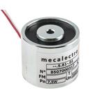 Mecalectro Holding Magnet, 440N Holding Force 24V dc