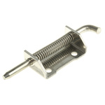 Pinet Raw Stainless Steel Concealed, Spring-Action Hinge Bolt-on, 82mm x 21mm x 2.8mm