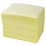 Lubetech Chemical Spill Absorbent Pad 110 L Capacity, 100 Per Package