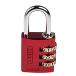 ABUS 145/30 Red All Weather Aluminium, Steel Safety Padlock 30mm