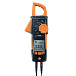 Testo 770-2 AC/DC Clamp Meter, Max Current 400A ac CAT 3 1000 V, CAT 4 600 V With RS Calibration