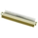 HARTING, har-bus 64 160 Way 2.54mm Pitch, Type Board to Board, 5 Row, Right Angle DIN 41612 Connector