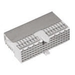 TE Connectivity, Z-PACK HM 2mm Pitch Hard Metric Type A Backplane Connector, Female, Right Angle, 22 Column, 5 Row, 110