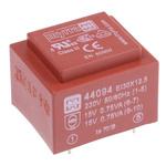 15V ac 2 Output Through Hole PCB Transformer, 1.5VA