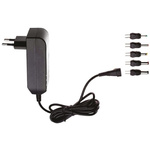 Egston, 7.5W Plug In Power Supply 5V dc, 1.5A, Level V Efficiency, 1 Output Switched Mode Power Supply, Type C