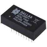 Maxim Integrated DS12887+, Real Time Clock (RTC), 114B RAM Multiplexed, 24-Pin EDIP