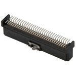 TE Connectivity, FH Male Backplane Connector, SMT Mount, 64 Way, 2 Row, 16mm Pitch, 800mA