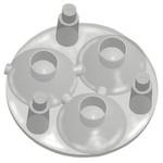 Carclo 10509 3-Way LED Lens, 40 ° Spot, Wide Angle Beam